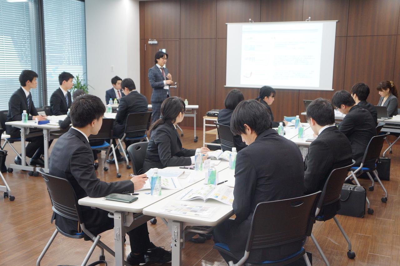 【2018年度新卒採用】 IT事業本部エンジニアコースの会社説明会が開催されました