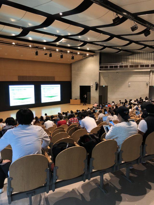 今年も慶応義塾大学SFCの「現代社会と技術の講義」に、宮本が講師として登壇しました!